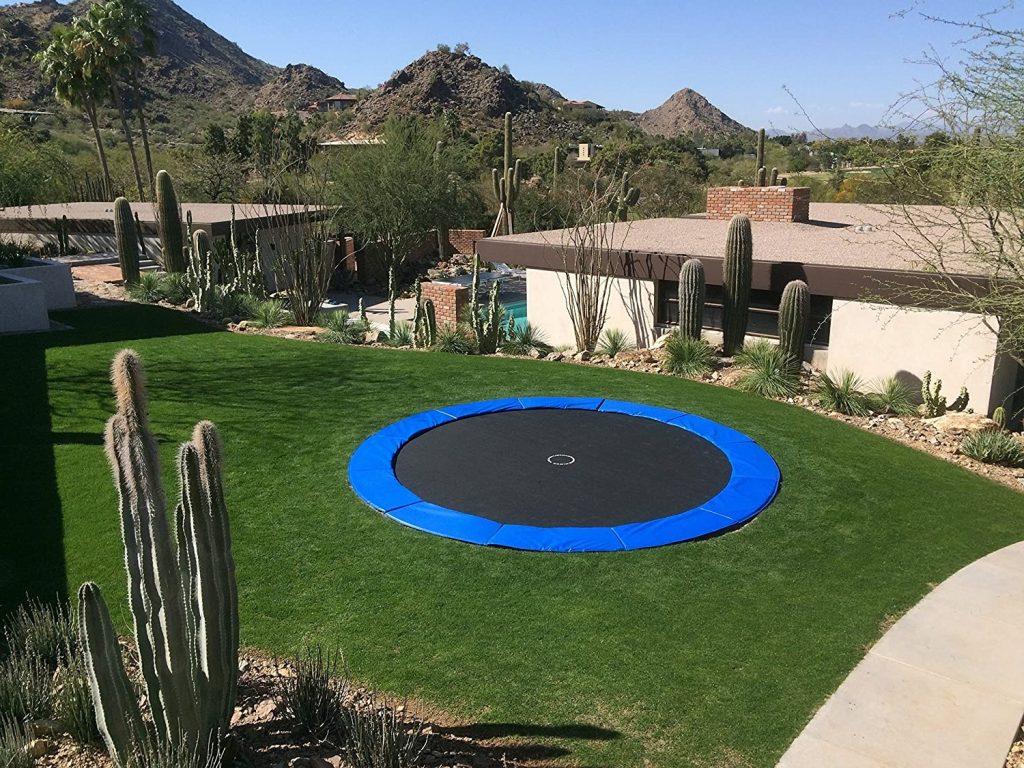 trampoline enterre